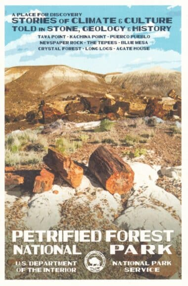 Petrified Forest National Park Postcard